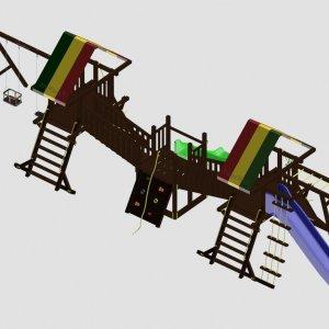 Детский игровой комплекс VikingWood Персей