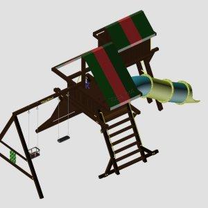 Детский игровой комплекс VikingWood Titan