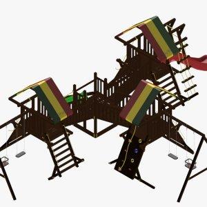 Детский игровой комплекс VikingWood Милан