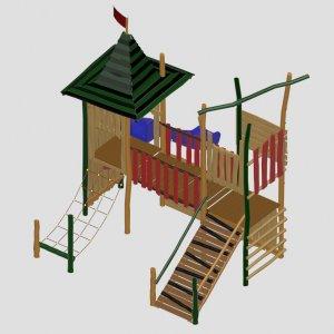 Детский игровой комплекс VikingWood JON-002