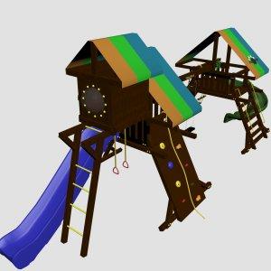 Детский игровой комплекс VikingWood Alt