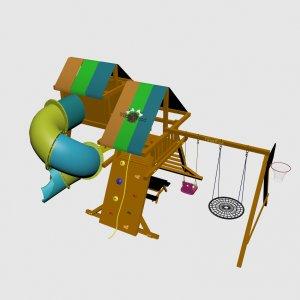Детская игровая площадка VikingWood Sfera