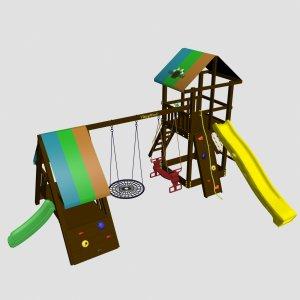 Детский игровой комплекс VikingWood Arkelo