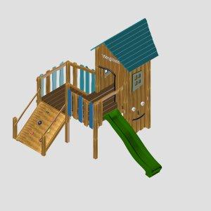 Детский игровой комплекс VikingWood Vilson