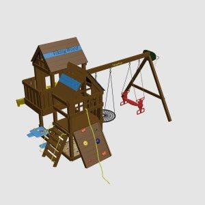 Детская игровая площадка VikingWood Makombo