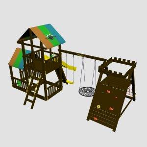Детский игровой комплекс VikingWood Spider