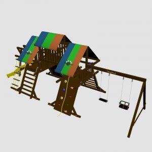 Детский игровой комплекс VikingWood Kalyari