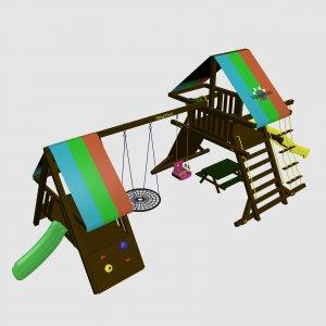 Детский игровой комплекс VikingWood Madagaskar