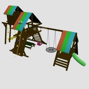 Детский игровой комплекс VikingWood Perfekto