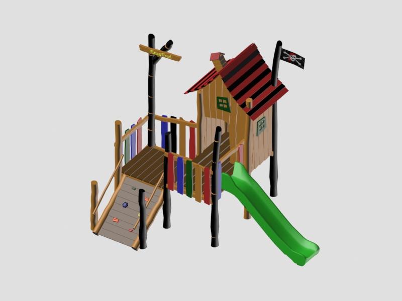 Детский игровой комплекс VikingWood ЁН-001