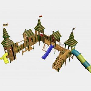 Детский игровой комплекс VikingWood Салоу