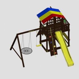Детская игровая площадка VikingWood Сиело с кольцом