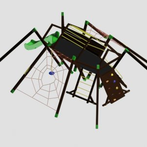 Детский игровой комплекс VikingWood Tarantul