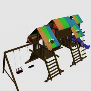 Детский игровой комплекс VikingWood Hrom