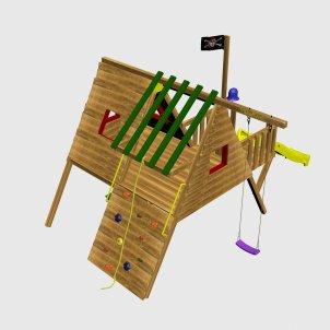 Детский игровой комплекс VikingWood Tako