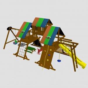 Детский игровой комплекс VikingWood Luiza