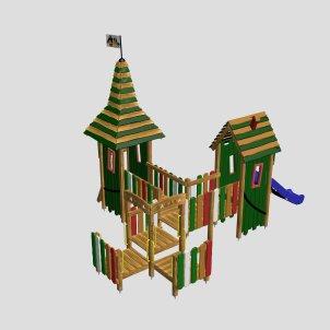 Детский игровой комплекс VikingWood Syuzi