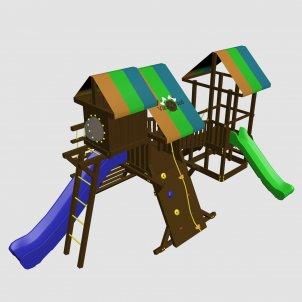 Детский игровой комплекс VikingWood Texas