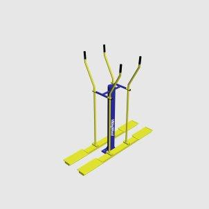 Уличный лыжный тренажер ТУ-003