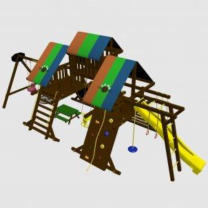 Детский игровой комплекс VikingWood Laguna