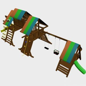 Детский игровой комплекс VikingWood Lavasa