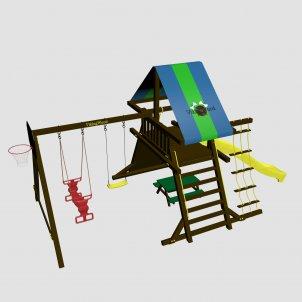 Детский игровой комплекс VikingWood Amigo с качелями Дуэт