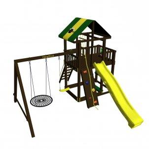 Детская игровая площадка VikingWood Sielo с кольцом