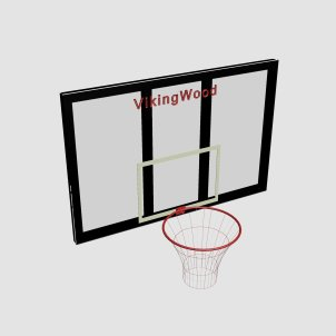 Баскетбольный щит с кольцом VikingWood Б-011