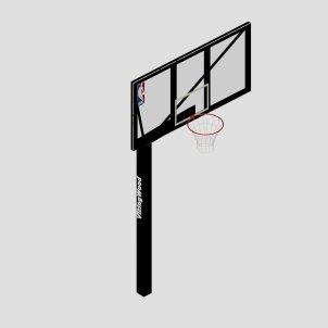 Баскетбольная стойка БС-02