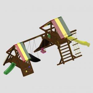 Детский игровой комплекс VikingWood Мадагаскар