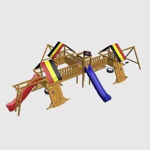 Детский игровой комплекс VikingWood Малибу