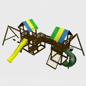 Детский игровой комплекс VikingWood Vulkan