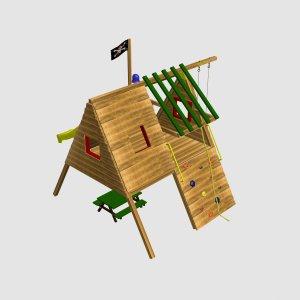 Детский игровой комплекс VikingWood Тако
